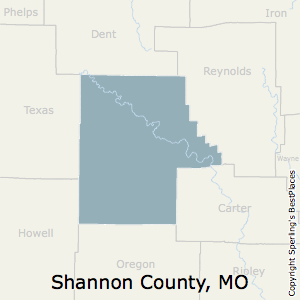 Best Places To Live In Shannon County Missouri