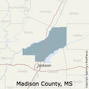 Best Places To Live In Madison County Mississippi - Ms county map