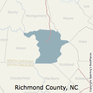 Richmond County Nc Map.Best Places To Live In Richmond County North Carolina