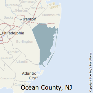 Best Places to Live in Ocean County, New Jersey on
