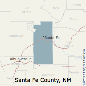 Best Places to Live in Santa Fe County, New Mexico