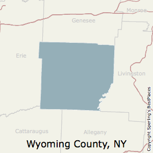 Best Places To Live In Wyoming County New York - Wyoming county map