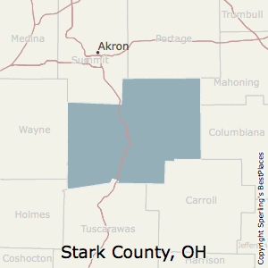 Stark,Ohio County Map