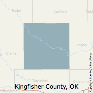 Kingfisher County Oklahoma Map.Best Places To Live In Kingfisher County Oklahoma