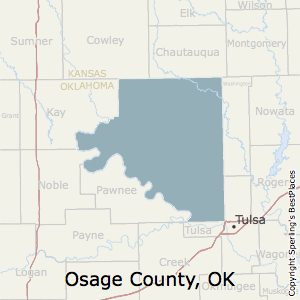 Best Places to Live in Osage County, Oklahoma