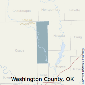 Washington,Oklahoma County Map
