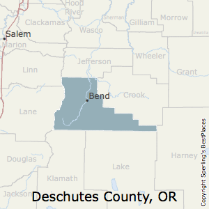 best places to live in deschutes county oregon