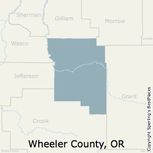 Wheeler Oregon Map.Best Places To Live In Wheeler County Oregon