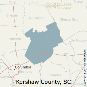 Best Places to Live in Kershaw County, South Carolina on horry county tax maps, lane county tax maps, kershaw sc, marion county tax maps, belmont county tax maps,