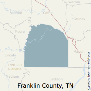 Franklin,Tennessee County Map