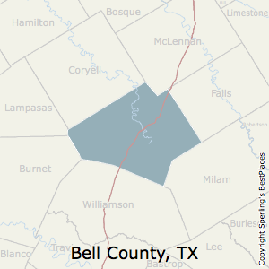 Best Places to Live in Bell County, Texas