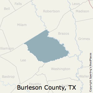 Burleson Tx Zip Code Map.Best Places To Live In Burleson County Texas
