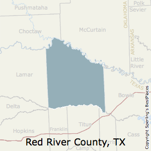 Little Red River Arkansas Map.Best Places To Live In Red River County Texas