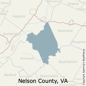 Nelson,Virginia County Map