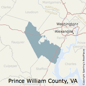 Prince_William,Virginia County Map