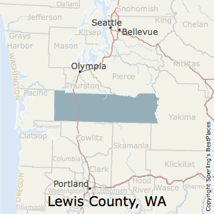 Lewis County Washington Map.Best Places To Live In Lewis County Washington