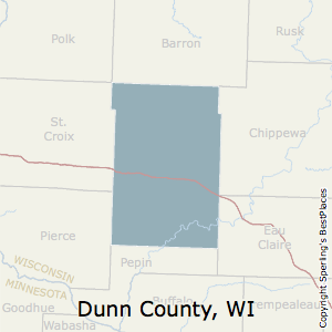 Dunn,Wisconsin County Map