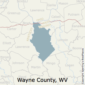 Best Places To Live In Wayne County West Virginia - West virginia county map