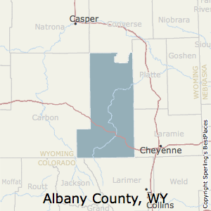 Albany,Wyoming County Map