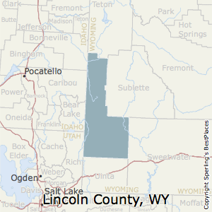 Lincoln,Wyoming County Map