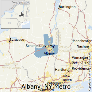 Best Places to Live in AlbanySchenectadyTroy Metro Area New York
