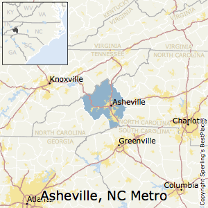 Best Places To Live In Asheville Metro Area North Carolina