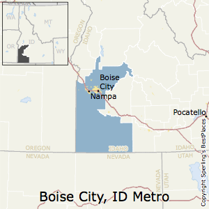 Boise_City,Idaho Metro Area Map