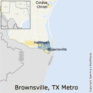Best Places to Live in BrownsvilleHarlingen Metro Area Texas