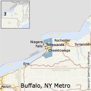 Best Places to Live in BuffaloCheektowagaNiagara Falls Metro Area