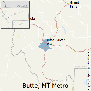 Best Places to Live in ButteSilver Bow Metro Area Montana