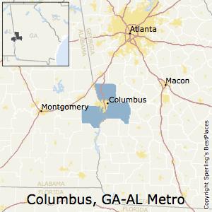 Best Places To Live In Columbus Metro Area Georgia