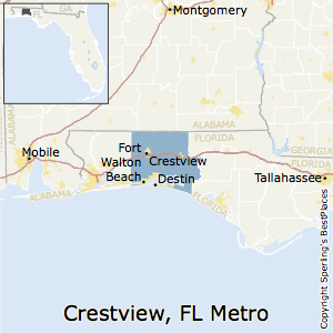 Crestview Florida Map.Best Places To Live In Crestview Fort Walton Beach Destin Metro Area