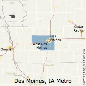 Best Places To Live In Des Moines West Des Moines Metro Area Iowa