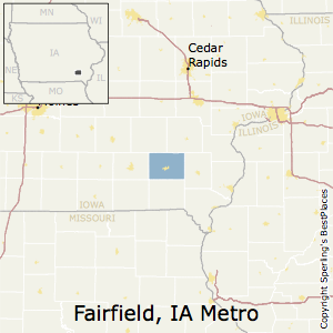 Best Places To Live In Fairfield Metro Area Iowa