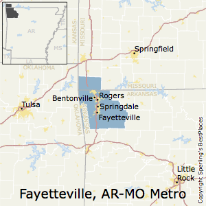 Best Places to Live in Fayetteville-Springdale-Rogers Metro Area ...
