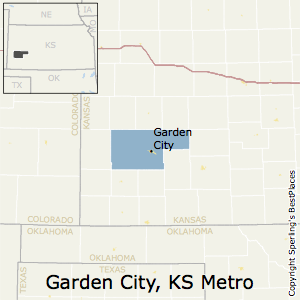 Garden_City,Kansas Metro Area Map