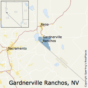 Gardnerville_Ranchos,Nevada Metro Area Map