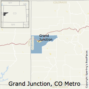 Grand_Junction,Colorado Metro Area Map