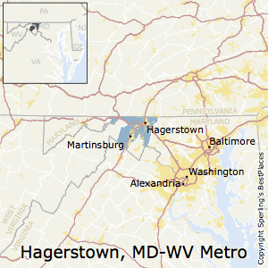 Hagerstown Md Zip Code Map.Best Places To Live In Hagerstown Martinsburg Metro Area Maryland