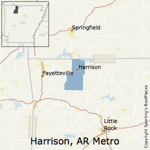 Best Places to Live in Harrison Metro Area, Arkansas