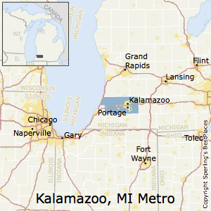 Best Places to Live in KalamazooPortage Metro Area Michigan