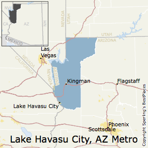 Best Places to Live in Lake Havasu CityKingman Metro Area Arizona