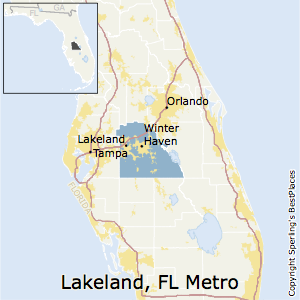 Best Places to Live in Lakeland-Winter Haven Metro Area, Florida