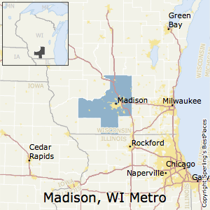 Madison Metro Map.Best Places To Live In Madison Metro Area Wisconsin