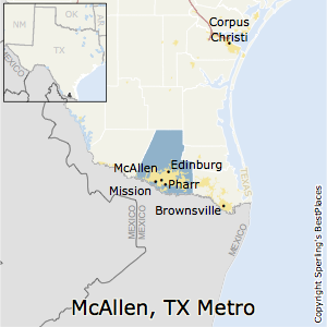Best Places to Live in McAllenEdinburgMission Metro Area Texas