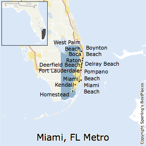 Miami-Fort_Lauderdale-West_Palm_Beach,Florida Metro Area Map