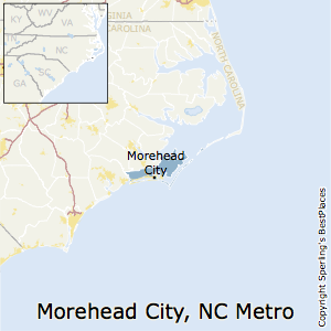 Morehead_City,North Carolina Metro Area Map
