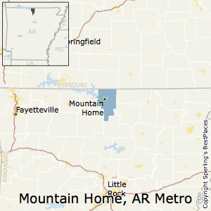 Mountain_Home,Arkansas Metro Area Map