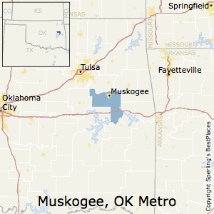 Best Places To Live In Muskogee Metro Area Oklahoma