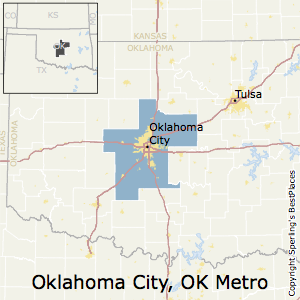 Oklahoma_City,Oklahoma Metro Area Map